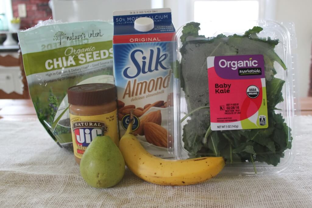 green smoothie recipe ingredients