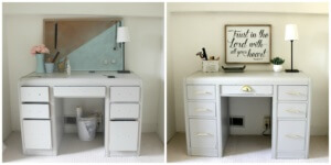 The 35 Minute $35 Desk Makeover