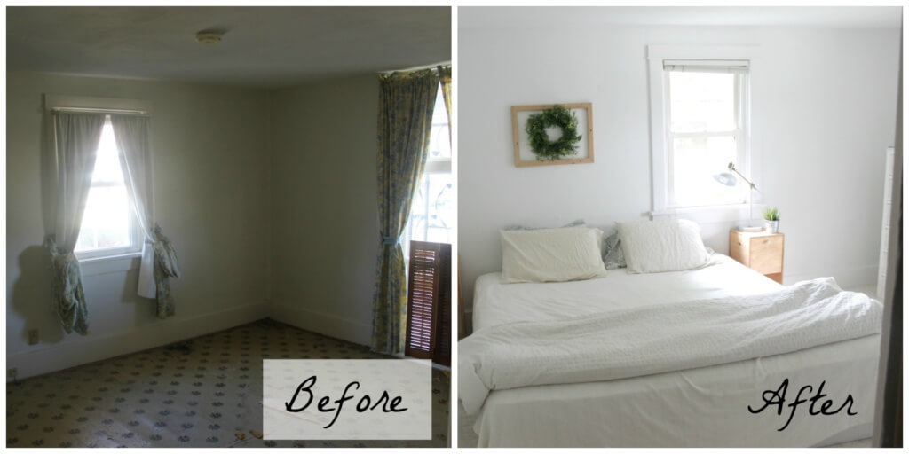 How To Brighten A Dark Room (Master Bedroom Reveal)