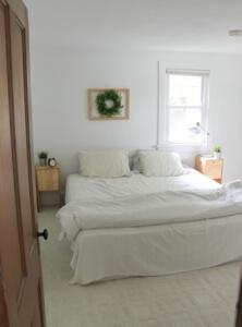 How To Brighten A Dark Room (Master Bedroom Reveal)