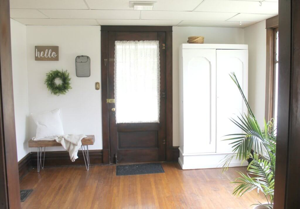Modern Farmhouse Entryway Progress The Definery Co