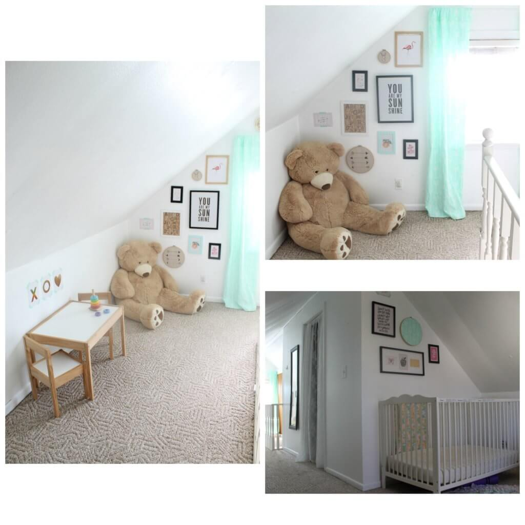 Girls Mint Green Nursery