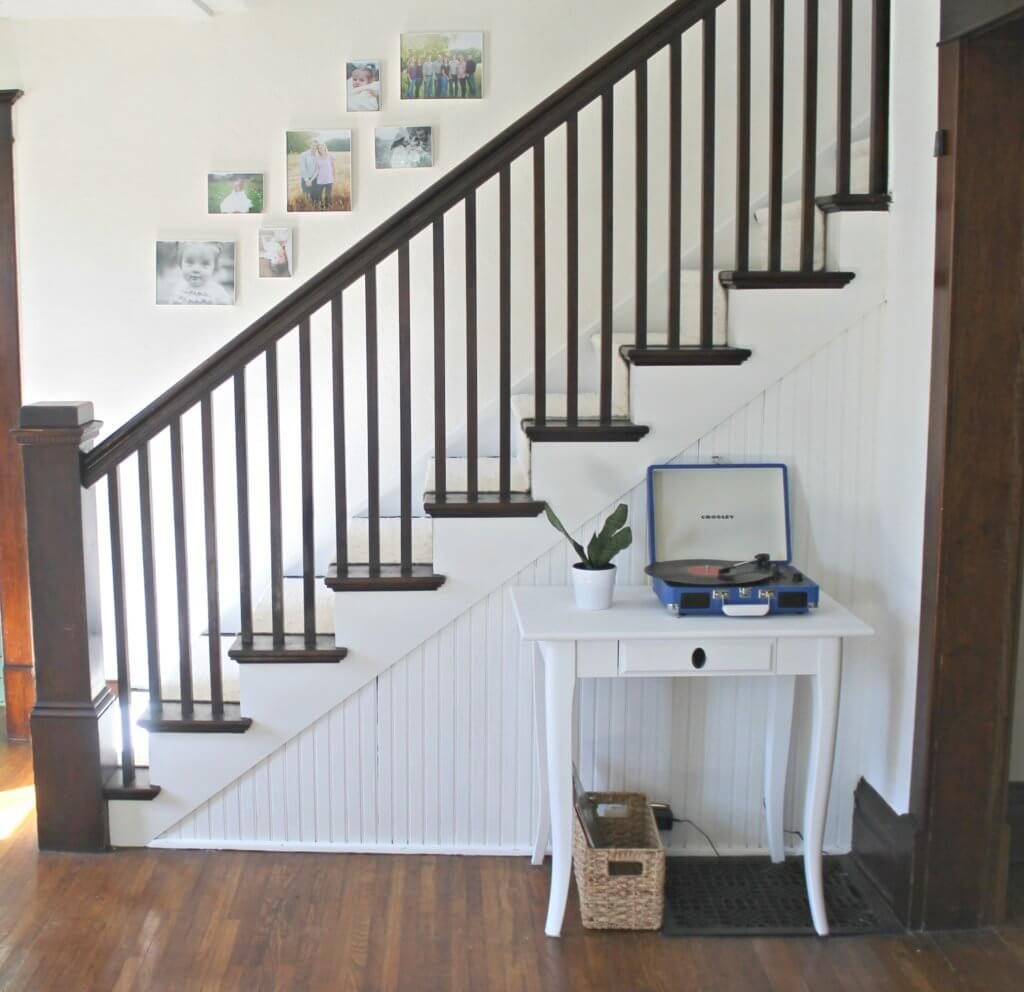 Modern Farmhouse Staircase Makeover The Definery Co