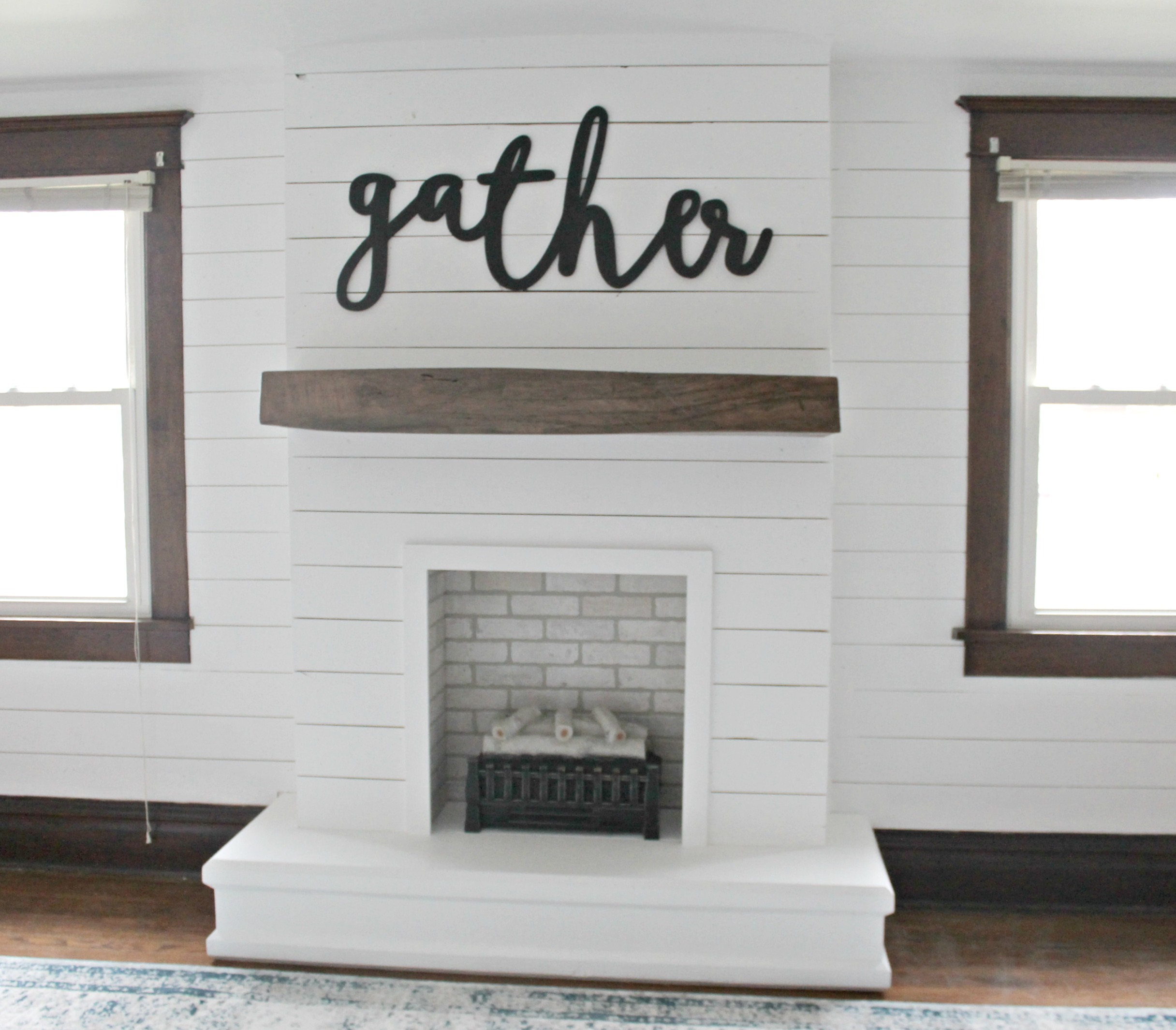 Diy Shiplap Fireplace The Definery Co
