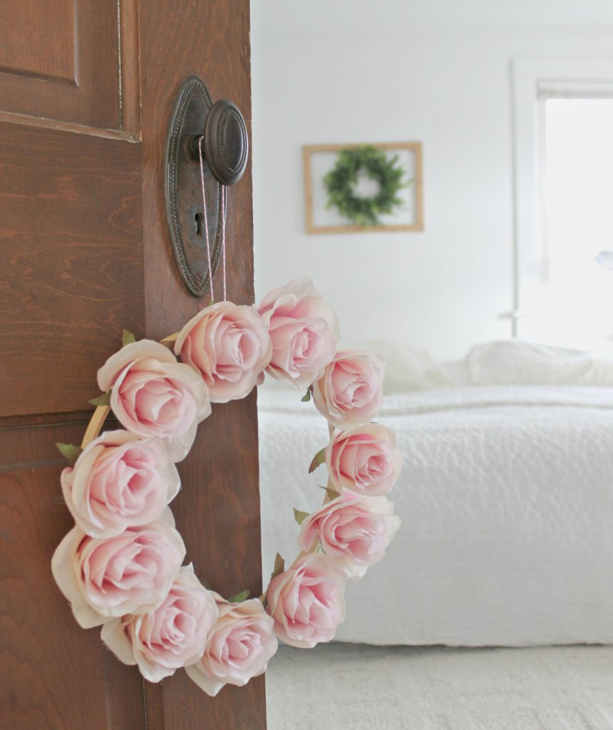 DIY Easy Spring Wreath–Cheap or Free Decor