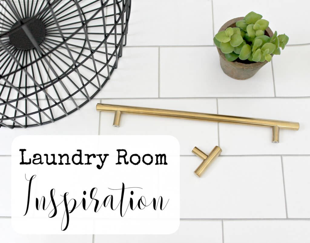 $100 Room Challenge Week 2-Laundry Room Inspiration