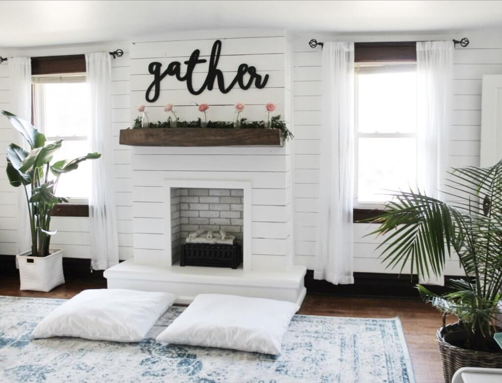 Diy Easy Faux Fireplace