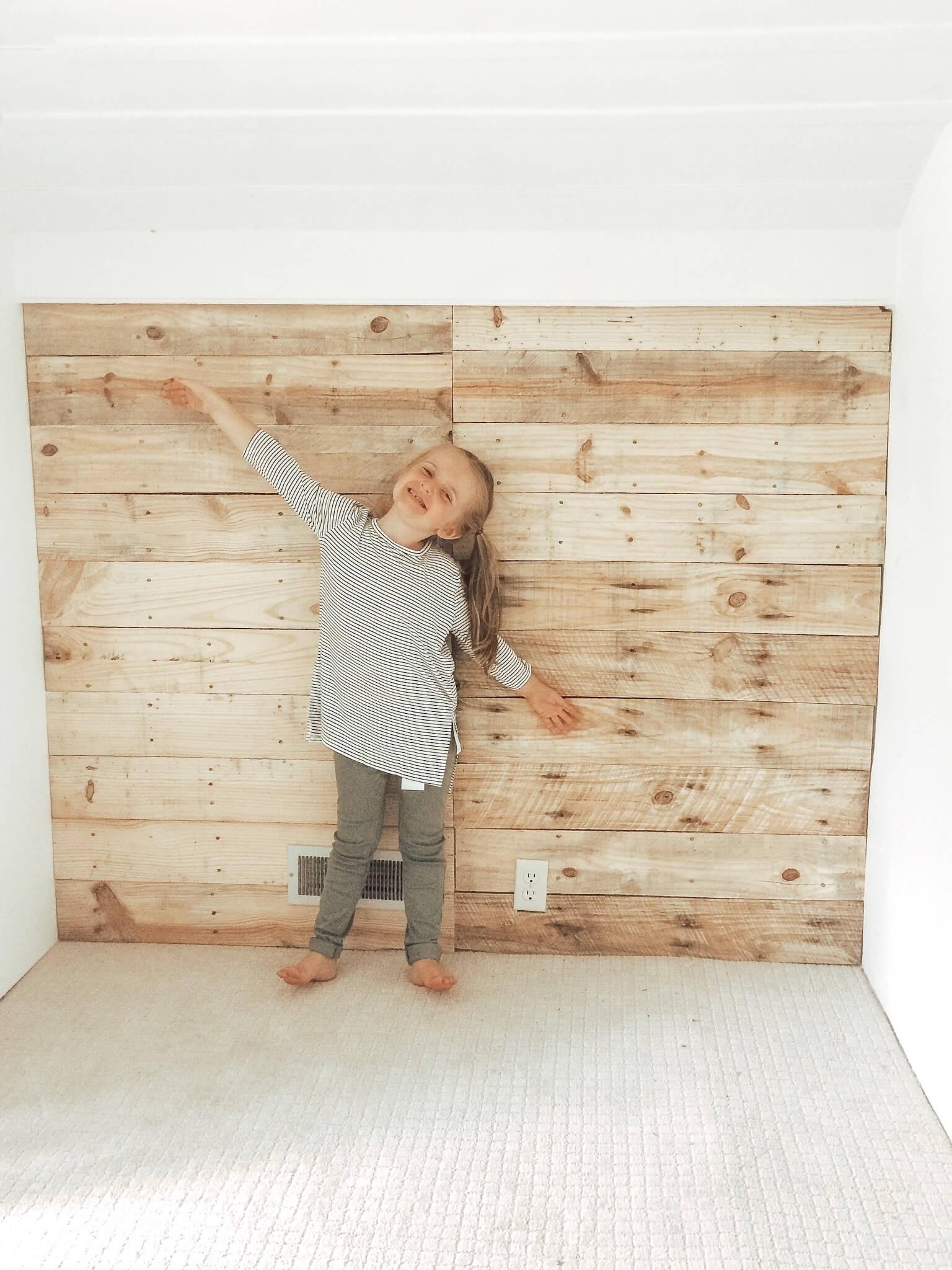 pallet wall nursery