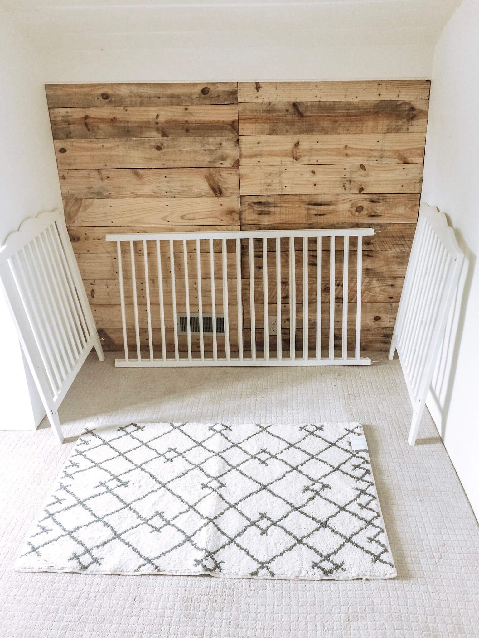 nursery pallet wall